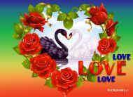 eKartki Miłość - Walentynki Znak miłości,