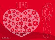 eKartki Miłość - Walentynki Koronkowe uczucie,