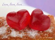 eKartki Miłość - Walentynki Love, love, love,