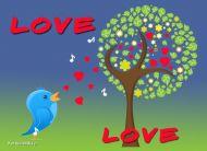 eKartki Miłość - Walentynki Miłosna serenada,
