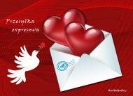 eKartki Miłość - Walentynki Przesyłka walentynkowa,