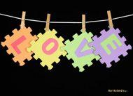 eKartki Miłość - Walentynki Walentynkowe Puzzle,