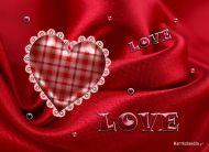eKartki Miłość - Walentynki Satynowa miłość,