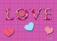 eKartki Mi³o¶æ - Walentynki Serca na Walentynki,