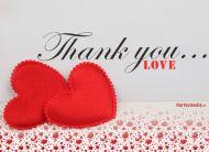 eKartki Miłość - Walentynki Thank You,