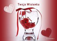 eKartki Miłość - Walentynki Twoja Wisienka,
