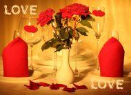 eKartki Mi³o¶æ - Walentynki Walentynkowa kolacja,