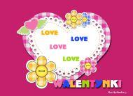 eKartki Mi³o¶æ - Walentynki Zwariowane Walentynki,