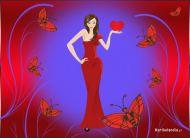 eKartki Miłość - Walentynki Bogini miłości,