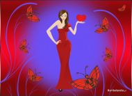 eKartki Mi³o¶æ - Walentynki Bogini mi³o¶ci,