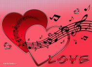 eKartki elektroniczne z tagiem: Darmowe kartki na walentynki Miłość w duszy gra,