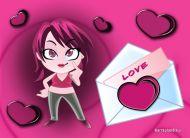 eKartki Miłość - Walentynki Prawdziwa Walentynka,
