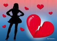 eKartki Miłość - Walentynki Rozbita miłość,