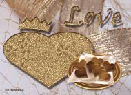 eKartki Miłość - Walentynki Szczerozłota miłość,