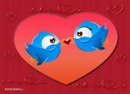 eKartki Miłość - Walentynki Zakochana para,