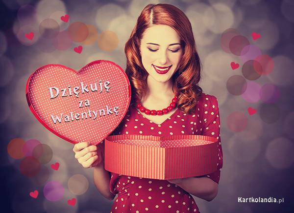 Dziêkujê za Walentynkê