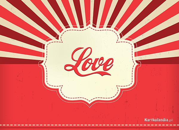 Karteczka Love