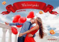 eKartki Miłość - Walentynki Całusów moc,