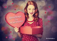 eKartki Miłość - Walentynki Dziękuję za Walentynkę,