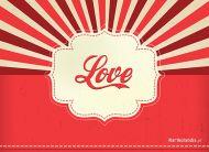 eKartki elektroniczne z tagiem: Kartki walentynki Karteczka Love,