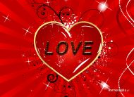 eKartki Mi³o¶æ - Walentynki Przyjmij me serce,