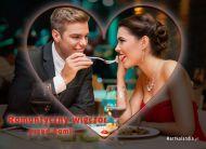 eKartki elektroniczne z tagiem: e-Kartka walentynkowa Romantyczny wiecz�r,