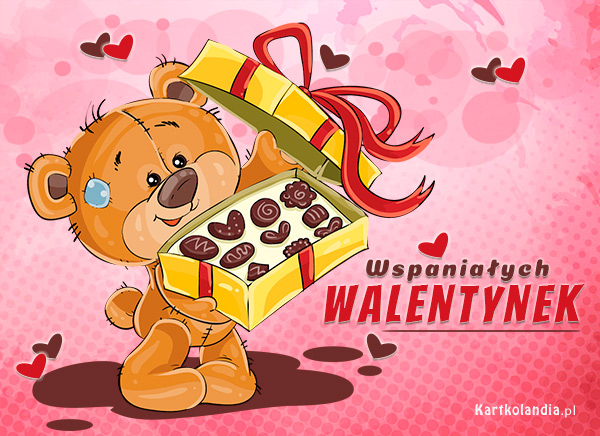 Wspaniałych Walentynek