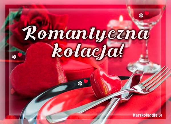 eKartki elektroniczne z tagiem: Zaproszenie Romantyczna kolacja,