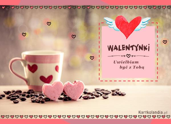 Walentynkowa kartka