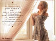 eKartki elektroniczne z tagiem: Darmowe kartki miłość Gdy Ciebie nie ma ...,