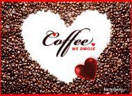 eKartki Miłość - Walentynki Miłosna kawa,