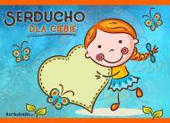 eKartki Miłość - Walentynki Serducho dla Ciebie,