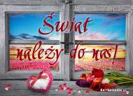 eKartki Miłość - Walentynki Świat należy do nas!,