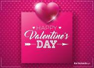 eKartki Miłość - Walentynki Szczęśliwego Dnia Zakochanych,