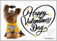 eKartki elektroniczne z tagiem: Darmowe kartki miłość Urocza Walentynka,