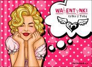 eKartki elektroniczne z tagiem: Darmowe kartki miłość Walentynki tylko z Tobą,