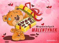 eKartki elektroniczne z tagiem: Darmowe kartki miłość Wspaniałych Walentynek,