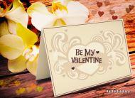 eKartki Miłość - Walentynki Be My Valentine,