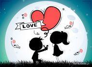 eKartki Miłość - Walentynki Dla wyjątkowej dziewczyny,