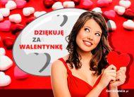 eKartki elektroniczne z tagiem: Darmowa e-Kartka Dziękuję za Walentynkę,