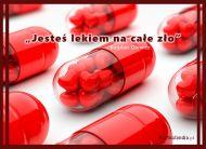 eKartki Miłość - Walentynki Jesteś lekiem na całe zło,