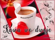 eKartki elektroniczne z tagiem: Darmowe kartki miłość Kawa we dwoje,