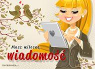 eKartki elektroniczne z tagiem: e-Kartki miłość Miłosna wiadomość!,