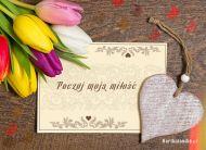 eKartki elektroniczne z tagiem: Darmowa e-Kartka Poczuj moją miłość,