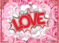 eKartki elektroniczne z tagiem: Darmowa e-Kartka Przesyłam trochę miłości,