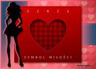 eKartki Miłość - Walentynki Serce - symbol miłości,