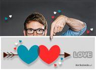 eKartki elektroniczne z tagiem: Darmowe kartki miłość Specjalna wiadomość!,