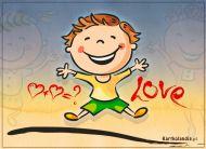eKartki elektroniczne z tagiem: Darmowa e-Kartka Szkolna miłość,