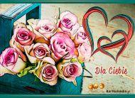 eKartki elektroniczne z tagiem: Darmowa e-Kartka Walentynkowe róże,