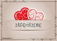 eKartki Miłość - Walentynki Zaproszenie od serca,
